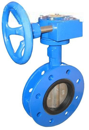 Din U Type Flanged Butterfly Valve